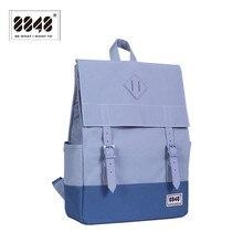 8848 Brand Backpack Backpacking Men Women Shoulder Bag Pattern Solid La