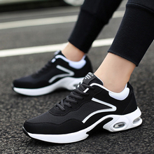 Unisex Sport Shoes Breathable Mesh Cushion Running Shoes Lightweight Men Women Sneakers Outdoor Athletic Training Footwear