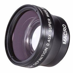 Image 2 - 37 มม. 0.45X Super เลนส์มุมกว้าง/มาโครสำหรับ Panasonic Lumix DMC LX7 LX7 ดิจิตอลกล้อง