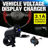 12V Waterproof Motorcycle Car Cigarette Lighter Dual USB Charger Plug Socket Adapter Dispenser Socket Mini Car