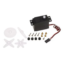 Analog Plastic Gear Servo 4.8-6.0V sec/60 3.5kg Large Torque for 1/10 1/12 RC Car HSP Huanqi ZD Racing Crawler