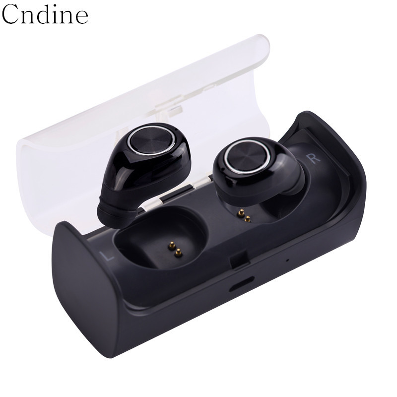 TWS Wireless Invisible Bluetooth Mini Earphone Earbud Noise Canceling Stereo Headset Bluetooth Twins Earphones with Microphone 2017 new i7 mini bluetooth earbud wireless earphones invisible headset with mic stereo bluetooth earphone fit ios android