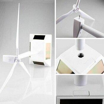 Solar Powered Windmill Desktop Model