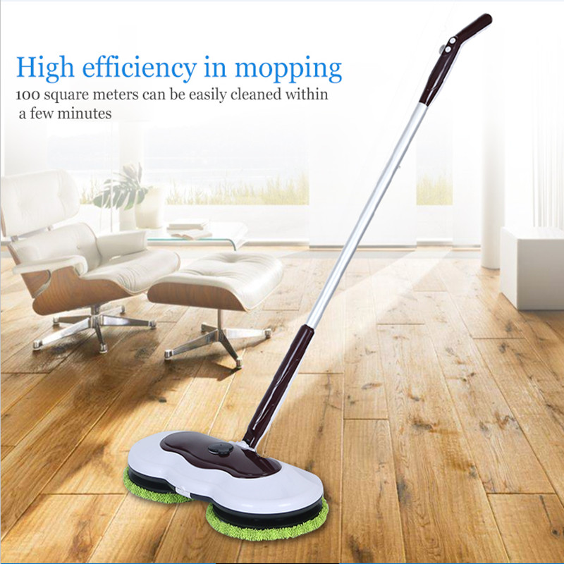Home Wireless Two-wheel Floor Mopping Machine With Low NoiseHome Wireless Two-wheel Floor Mopping Machine With Low Noise