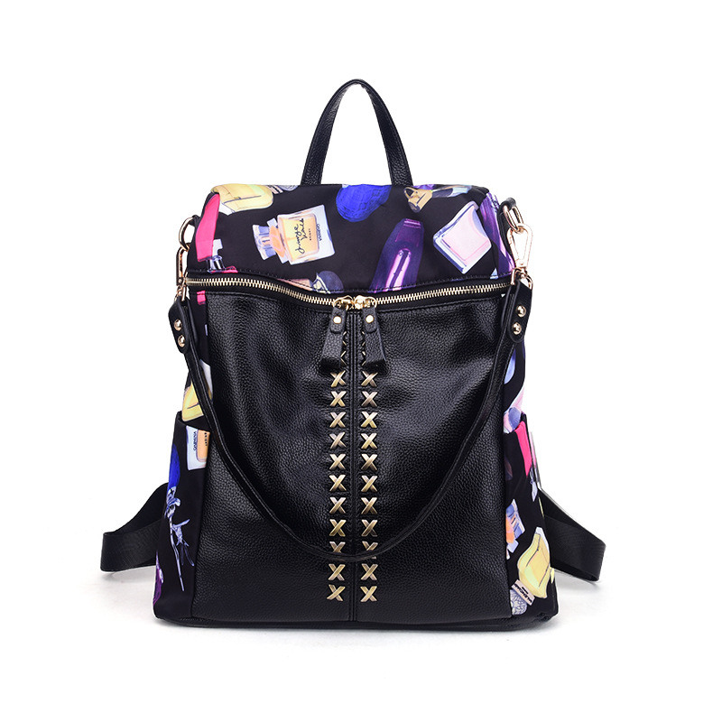 ФОТО New Pu Leather Backpacks Women Bags Ladies Brand Backpack Style Vintage School Bag Women'S Backpack