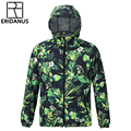 New Autumn Winter Lovers Hooded Windbreaker Europe College Style Waterproof Jacket Male Anti-UV Personalized Printing Coat M375