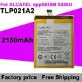 Alcatel Батареи 2150 мАч TLP021A2 Батарея Мобильного Телефона для Alcatel OPPO S838M/S830U Бесплатная Доставка