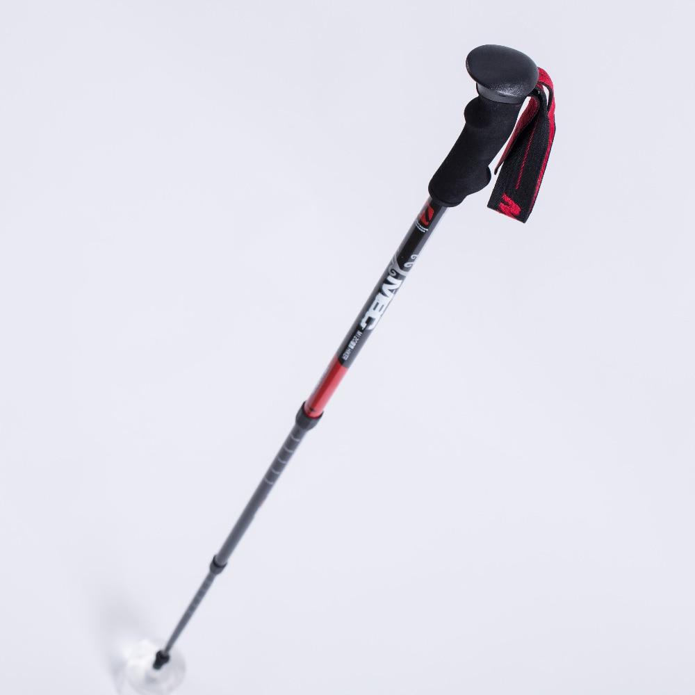 цена  MBC M120-Totem Carbon Fiber Three Retractable Carbon Ultralight Outdoor Trekking Pole  Walking Stick  онлайн в 2017 году