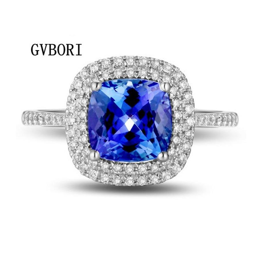 Buy 23 25CT Blue Gemstone Ring 04CT
