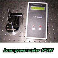 0-2W CW laser power meter/ laser power calculator, laser energy calculator for CW 200-2500nm laser