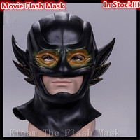 Hot Sale Famous Film The Flash Mask DC Movie Cosplay Costume Prop Halloween Full Head Latex Party Face Masks Free size in stock