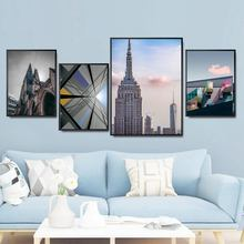Home Decoration Print Canvas Wall Art Picture Poster Paintings Oil Unframed Drawings Modern architecture field rock print unframed canvas wall art paintings