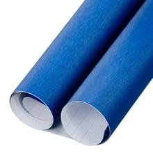 Sunice Metallic Blue In Alluminio Spazzolato Pellicola Dell'involucro Dell'automobile Del Vinile Del Corpo Pellicola Decorazione Esterna Del Veicolo Moto Automobili Adesivi Per Auto