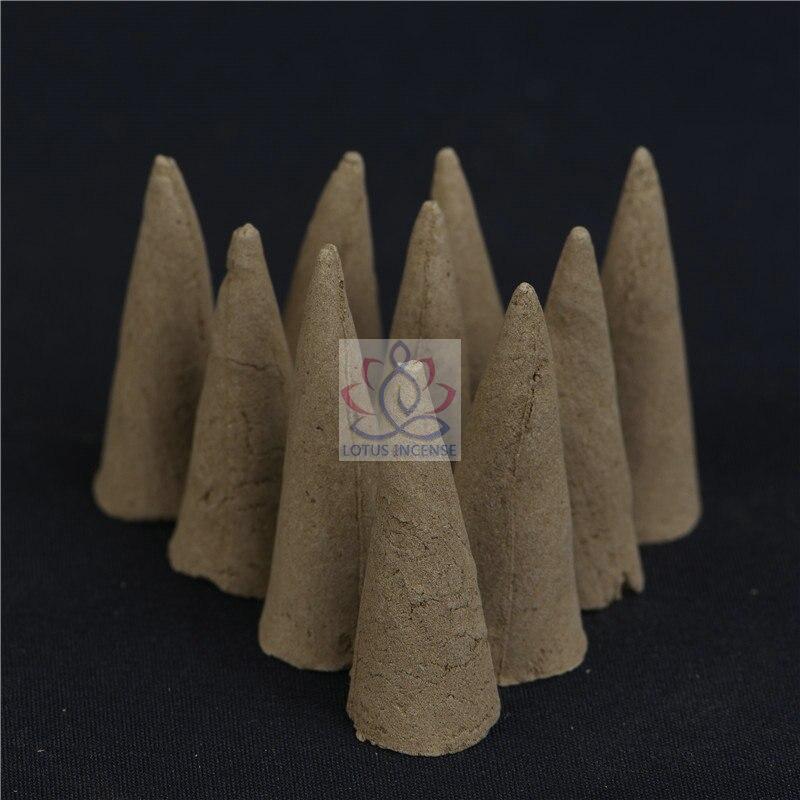 20pcs Natural Indonesia Agarwood Incense Cone 100% Handmade Smoke