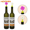 Силиконовые винные пробки в форме цветов HOOMIN  уплотнитель для бутылок вина  крышки для вина  пива  бутылки шампанского  пробковые пробки  инс...