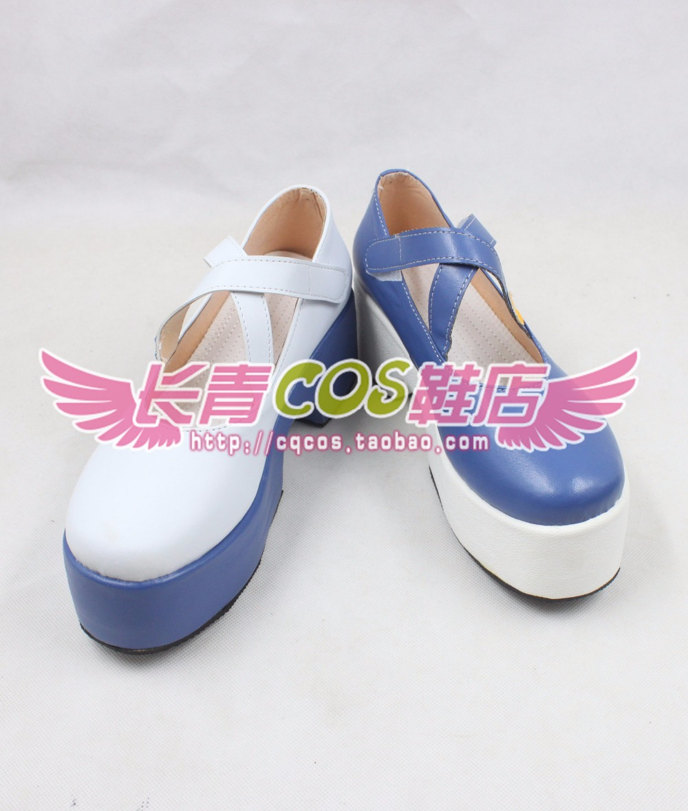 VOCALOID Luo Tianyi the bitchy idol cosplay shoes boots Custom-Made 2729