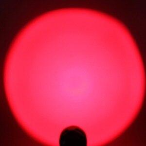 Image 5 - UltraFire مصباح ليد جيب XP E2 الأحمر الشعلة الصيد ليلة الصيد التكتيكية مضيا 630nm التكبير الأضواء لوز 18650 مضيا