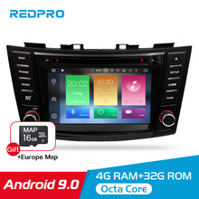 8 Android 9.0 Car Video DVD Stereo For Suzuki Swift 2012 2013 2014 2015 2016 Audio GPS Navigation Multimedia WIFI Radio Player цена