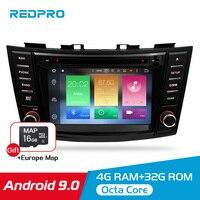 8 Android 9.0 Car Video DVD Stereo For Suzuki Swift 2012 2013 2014 2015 2016 Audio GPS Navigation Multimedia WIFI Radio Player