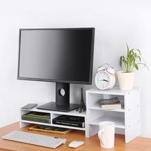 Защита позвоночника шеи компьютер ноутбук монитор стояк настольный с органайзером хранения деревянный компьютерный стол