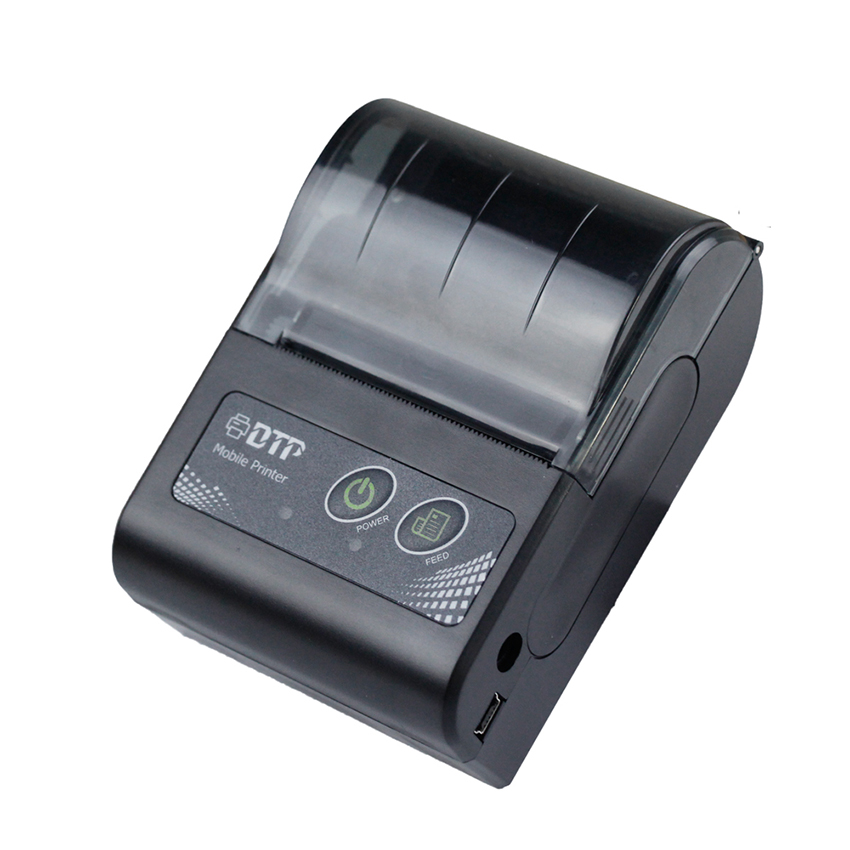 RD M58 Bluetooth wireless thermal printer 58mm handheld portable printer with pocket size for restaurant support