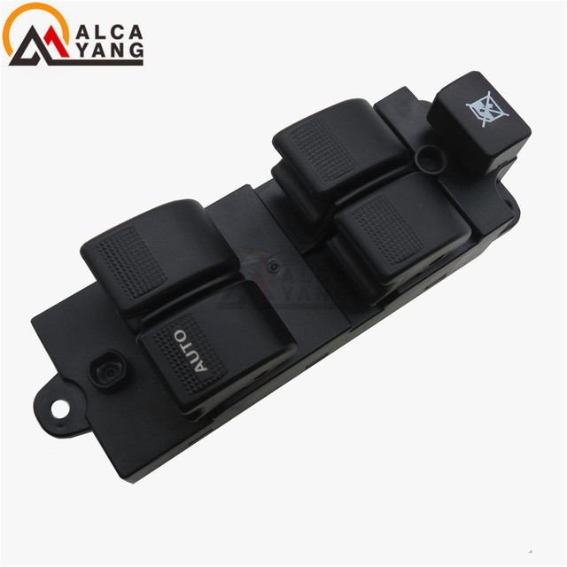 Malcayang Electric Power Window Master Switch Left Driver For 2001-2006 Mazda MPV OEM# LC6266350A LC62-66-350A
