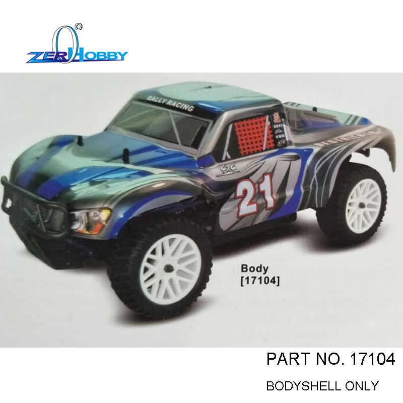 1PCS PER LOT RC CAR BODY SHELL 46 23CM 55902 17104 FOR HSP 1 10 SCALE 4X4 OFF ROAD NITRO SHORT COURSE TRUCK 94155 in Parts Accessories from Toys Hobbies