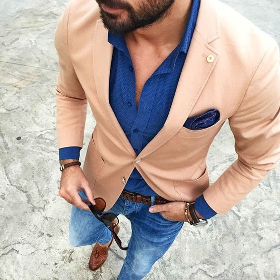 2017 Latest Coat Pant Designs Champagne Men jacket Casual Suits For Men Custom Best Man Skinny 1 Pieces Tuxedo Masculino 133