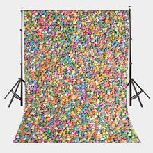 5x7ft Colorful Stars Photography Backdrop Photo Studio Background Props