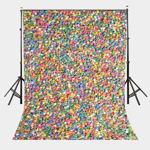 Image 1 - 5x7ft Colorful Stars Photography Backdrop Photo Studio Background Props