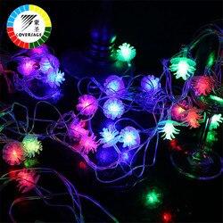 Coversage 10 متر 100 led شجرة جارلاند سلسلة عيد الميلاد الديكور نافيداد led الستار الستار الجنية أضواء عطلة
