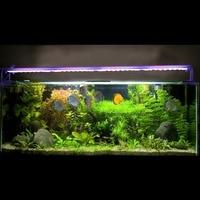 Программируемый 96 Вт светодио дный большой светодиодный свет аквариума затемнения acuario лампа для коралловых рифов аквариум aquario лампе вилк...