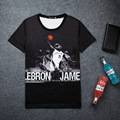 Hot Lebron James 3D Print T-shirt Unisex Kid Fans Love Loose Comfortable Homme Quality Cool Character Tops