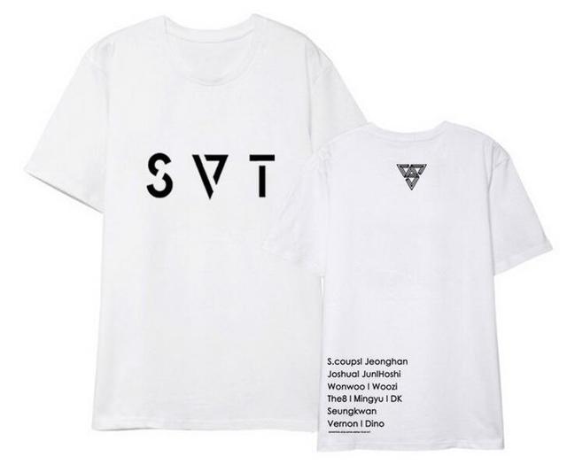 SEVENTEEN SVT Band Member Concert T-Shirt