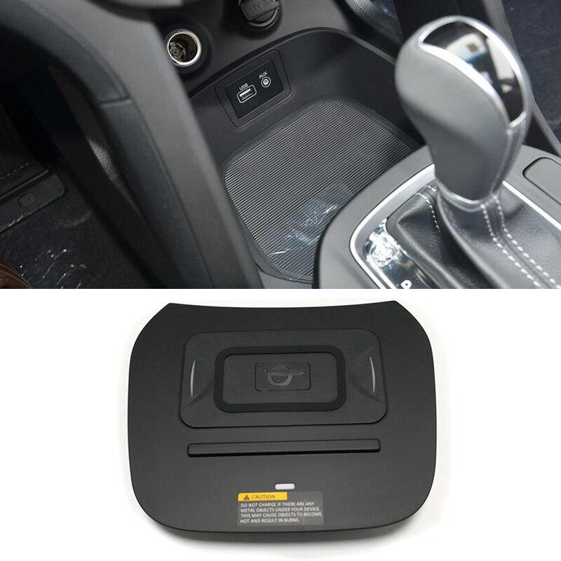 10W voiture QI chargeur sans fil chargeur mobile charge rapide support pour téléphone accessoires pour Hyundai IX45 Santa Fe 2015 2016 2017 2018