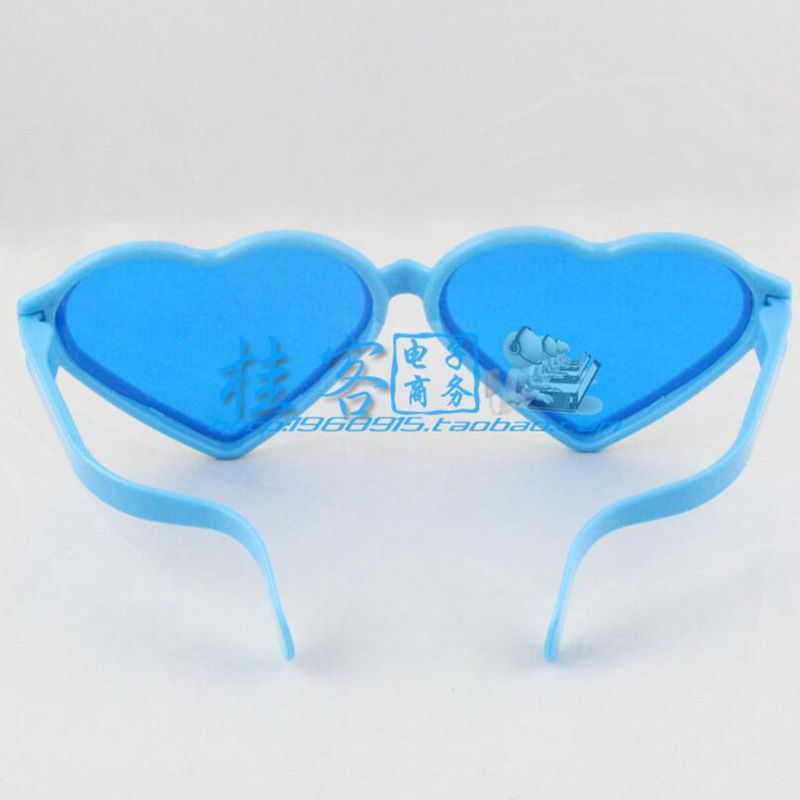 Super Fans Love Heart Shaped Glasses Exaggerated Masquerade Carnival Party Show Plastic Toy Game Glasses Boys Costume Accessories Kids Costumes & Accessories
