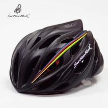 Casco de bicicleta de montaña Tamaño 54-58 cm 25 Orificios de ventilación Ultralight casco mtb casco de ciclismo de carretera 2018 EPS + PC casco de bicicleta de hombres y mujeres