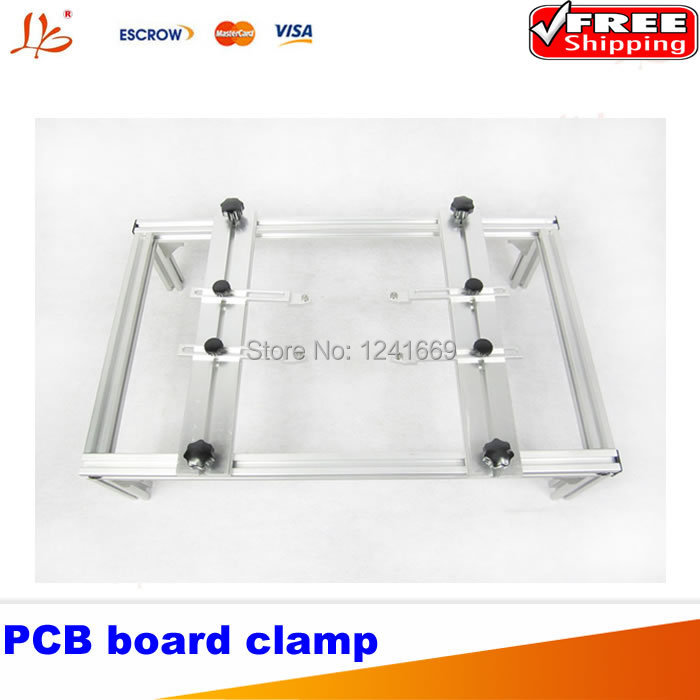 где купить Free Shipping, PCB motherboard clamp for BGA rework repair, PCB bracket 480*290*120mm support PCB board дешево