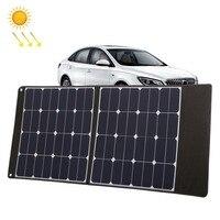 HAWEEL 100 Вт складной солнечный Зарядное устройство Открытый путешествия Перезаряжаемые складные сумки и 5 В/2.4A USB Порты и разъёмы 2 солнечных п