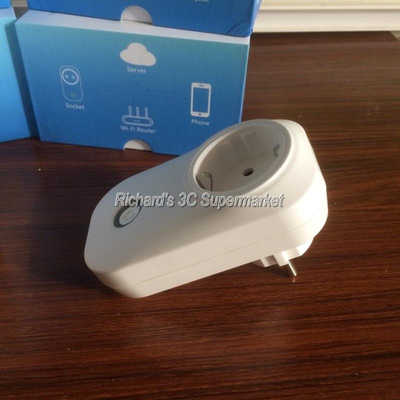 Sonoff wifi timer socket eu/US plug Adapter wireless smart Home ...