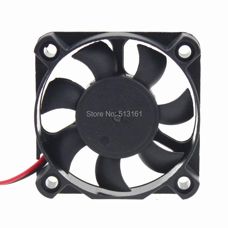 100PCS//Lot Gdstime 5010S 5V 7Blades 50mm 5cm Brushless Cooling Fan 50mmX50mmX10mm