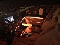 Mason 3 вида цветов Авто салона Декоративные светодиодные окружающей среды двери свет в полоску Атмосфера лампы для BMW F10/F11 обновления