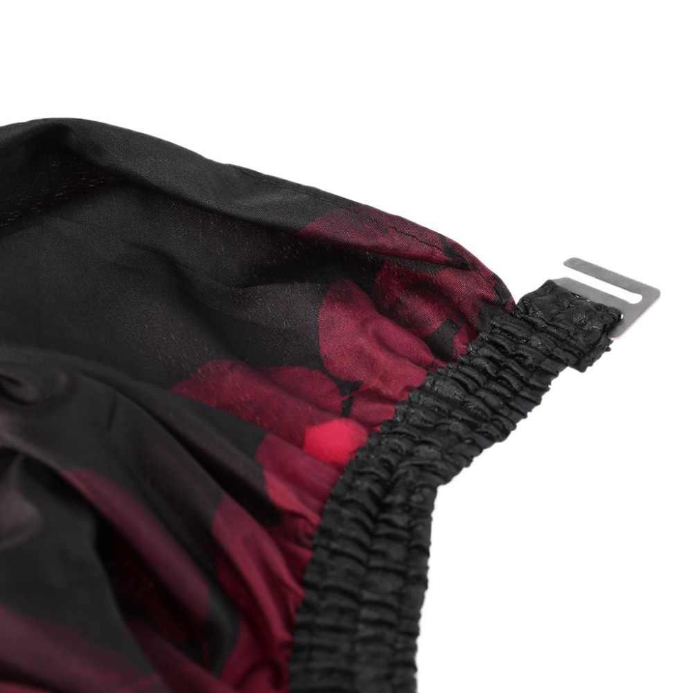 Профессиональная парикмахерская накидка для стрижки, водонепроницаемая мягкая ткань, фартук для салонов с принтом для взрослых, очень большой 140x160 см