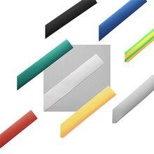 1 М 4.0 мм 7 Цвет 2:1 Полиолефиновый Термоусадочные Трубки Трубки Рукава Wrap Провод Комплекты Кабель Трубки Электрические связи