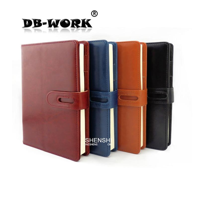 2019 A5 Блокнот Творческий бизнес кожаный ноутбук дневник ноутбук на заказ ЛОГОТИП