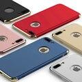 Nova Marca de Luxo de Alta Qualidade Ultra Fino Tampa Do Telefone À Prova de Choque Armadura case para iphone 7 7 plus 3 em 1 de proteção integral case