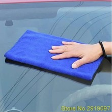 New 1 Super Water Absorbent Microfiber Cleaning Towel Car Wash Clean Cloth Drop Shipping Support(China)