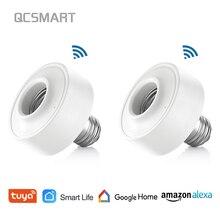 Туя Смарт жизнь Wi-Fi свет гнездо держатель лампы для E26 E27 светодиодные лампы Google дома Amazon Echo Alexa голос Управление приложение светильник с таймером
