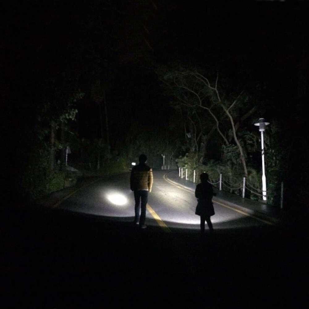 AloneFire-torche tactique étanche, lampe de randonnée de chasse en Camping, C8, 5000lm, XML CREE, T6 U3, batterie 18650
