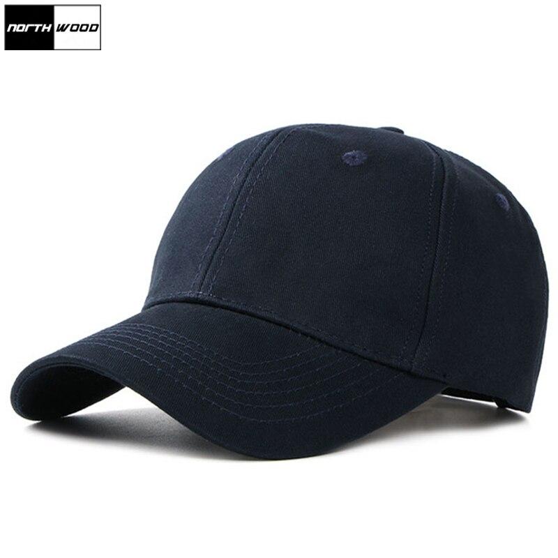 [NORTHWOOD] 2019 High Quality Cotton Men's   Baseball     Caps   Casquette Femme Mens Snapback Hat Bone Trucker   Cap   Mens Hats And   Caps